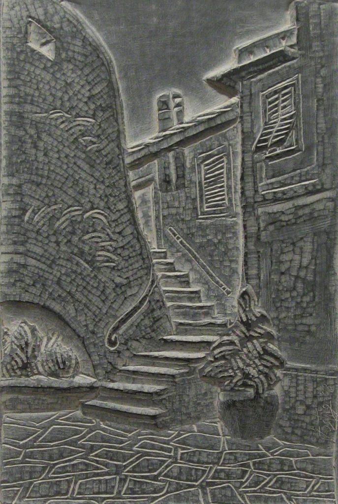 Camogli salita castello